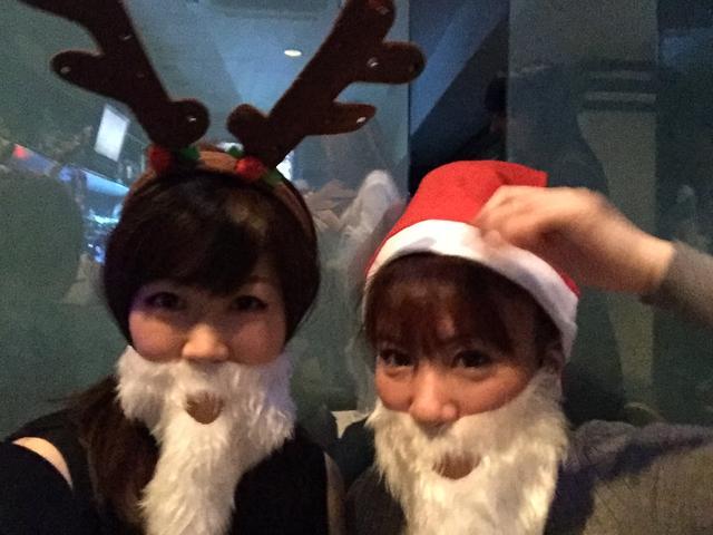 画像: 12月なのでクリスマスコスを。