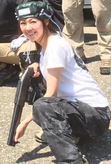 画像: ショットガン女子でもあります。 haruru327.militaryblog.jp