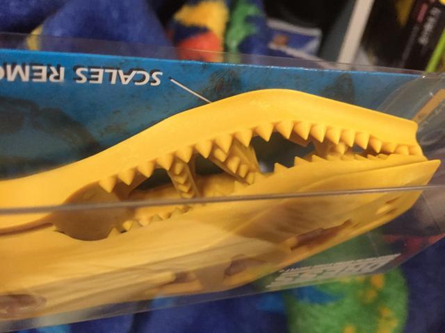 画像2: ディノグリップに相応しい恐竜モチーフは魚を食べやすくなってるこの恐竜!