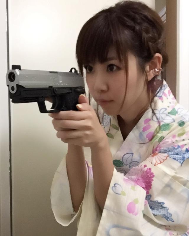 画像: 浴衣の生田晴香 haruru327.militaryblog.jp