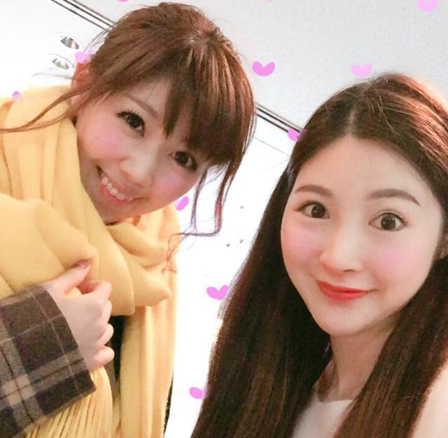 画像: 生田晴香と中国人モデルのセイサさん。 instagram.com