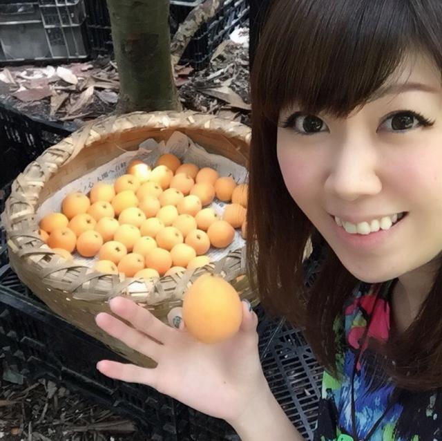 画像: びわ大好き生田晴香のフォローお待ちしております!