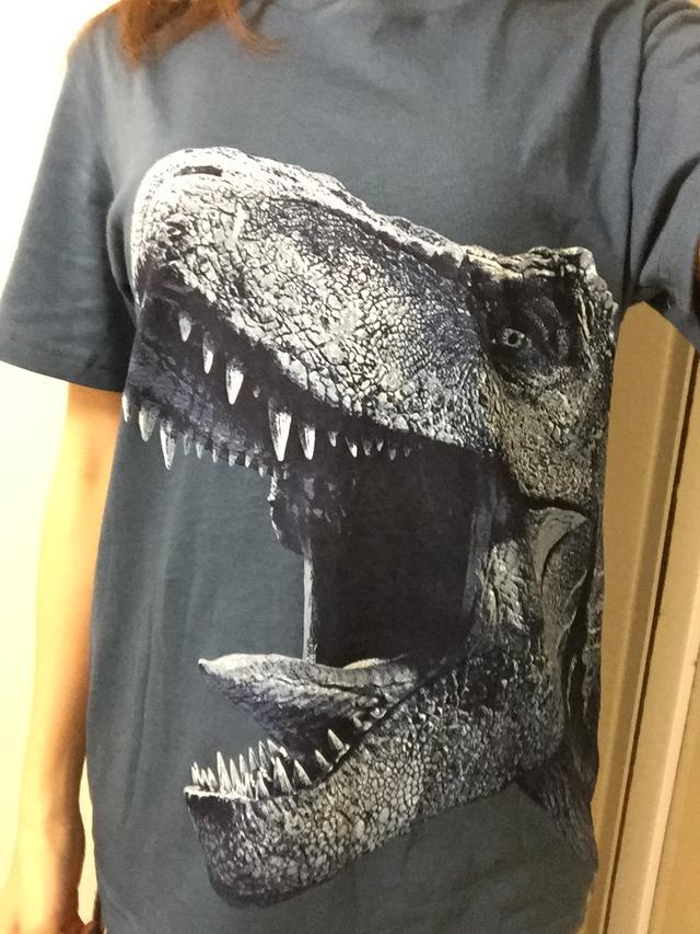 画像2: 恐竜好き同士はすぐ仲良くなれるものです。結果的にホラーコラム!