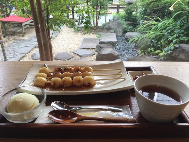 画像: お団子が美味しいカフェ