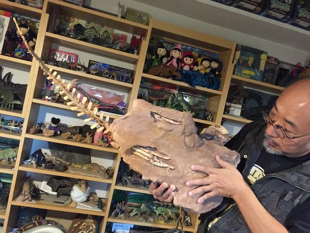 画像6: !?特攻の拓の所さんの約30年で集めた大量すぎる恐竜コレクション