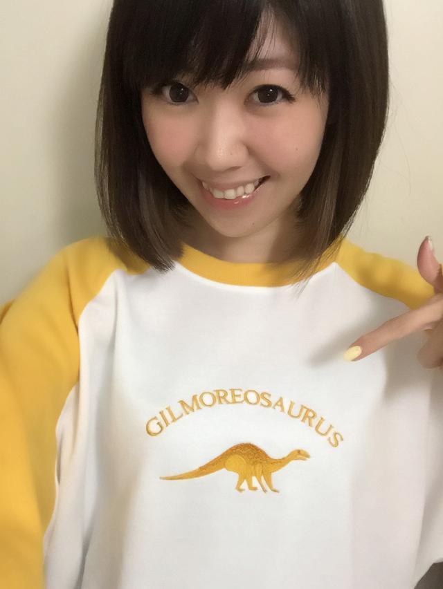 画像: 渋谷109で見つけた恐竜トレーナー