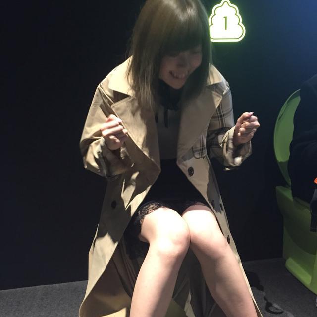 画像: 入場してすぐトイレに座らされ、踏ん張ってくださいと言われる生田晴香