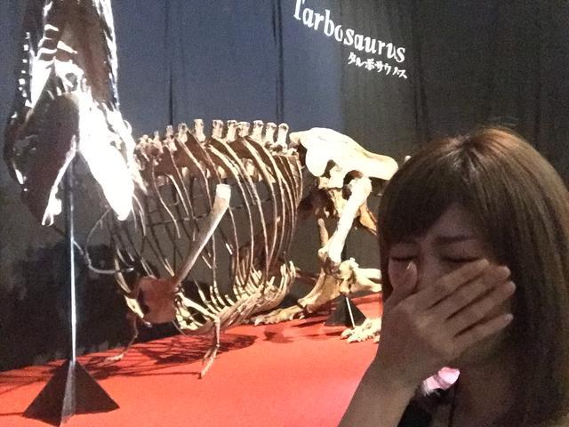 画像2: 「ベールを脱いだ謎の恐竜」エリア