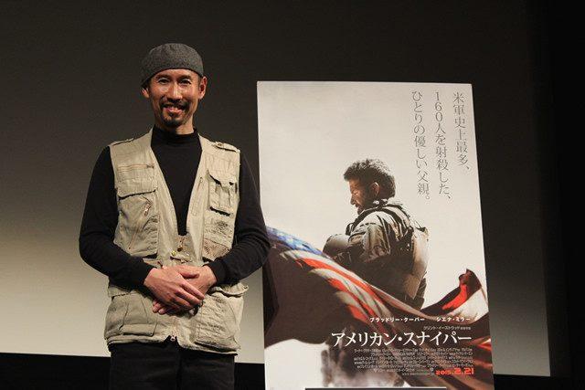 画像: 戦場カメラマン・渡部陽一氏、「アメリカン・スナイパー」に自身の経験を重ねたコメントが重い---。