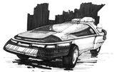 画像: 今でも未来感炸裂!映画『ブレードランナー』絶版画集の『Blade Runner Sketchbook』が、ネット公開