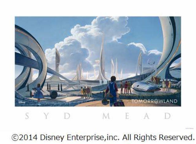 画像: ディズニーの極秘作品に新情報「ブレードランナー」のシド・ミードが手がけたコンセプトアート解禁。