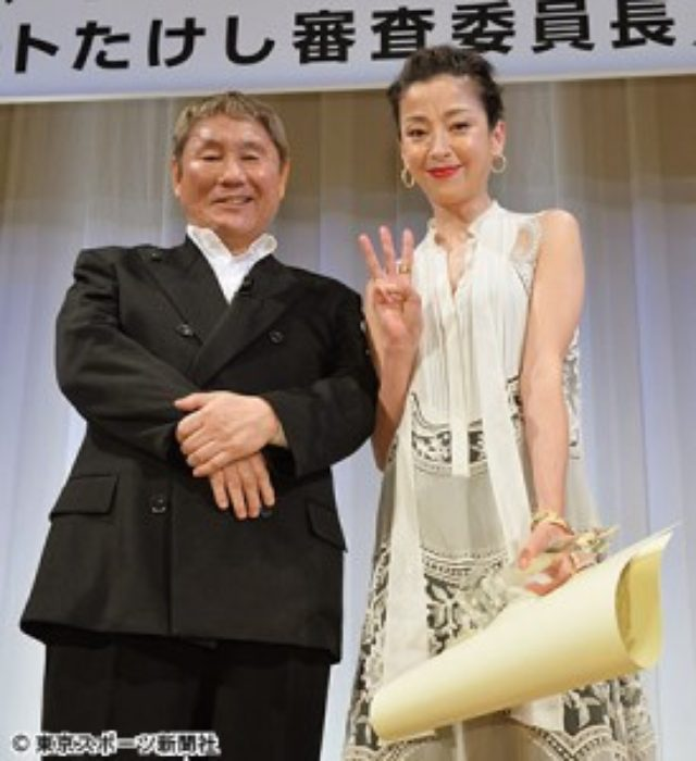 画像: 第24回東京スポーツ映画大賞 主演女優賞の宮沢りえにたけし、主演映画オファー、本気。