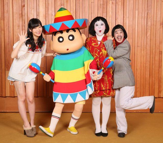 画像: 日本エレキテル連合、映画『クレヨンしんちゃん』で声優初挑戦!指原莉乃もゲスト声優に!