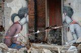 画像: オールド上海にグラフィティアートが出現!立ち退きの廃墟に現れたストリートアート―上海市