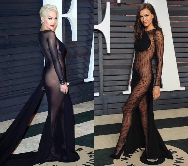 画像: 今年は転ばなくて、よかった!セレブたちのノー下着ドレスが話題!オスカーパーティーで披露
