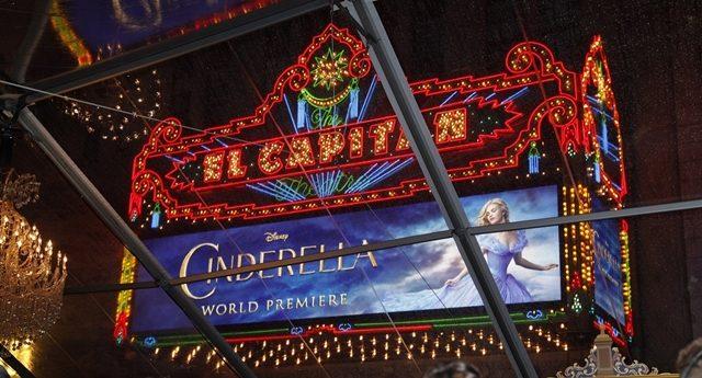画像1: 『シンデレラ』Wプレミア、ディズニー史上最長カーペットにキャスト集結!!!