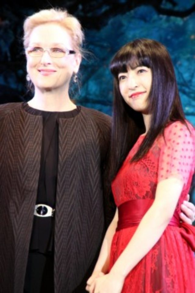 画像: メリル・ストリープ来日『イントゥ・ザ・ウッズ』ジャパンプレミアで神田沙也加の生歌を大絶賛。