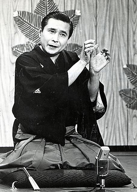 画像: 「正月丁稚」を演じる=1975年ごろ