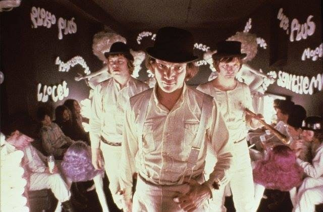 "画像: Out of CINEMA #12 .....""A Clockwork Orange"" by Stanley Kubrick"