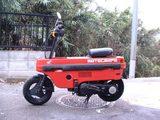 画像: ホンダのミニバイク「MOTOCOMPO」