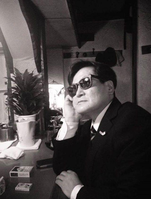 画像: 林 海象監督 近影
