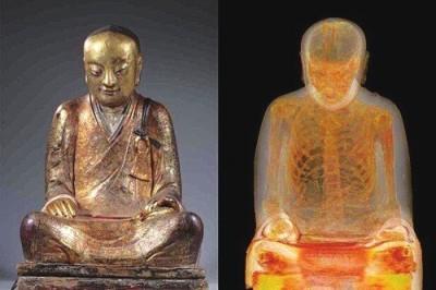 画像2: オランダで見つかった即身仏入り仏像、盗品と認定し返還要求へ―中国