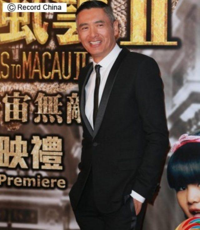 画像: 写真は「澳門風雲2」のチョウ・ユンファ。 http://www.recordchina.co.jp/a105611.html