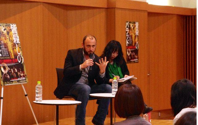 画像: シャウル・シュワルツ監督 イベントの様子