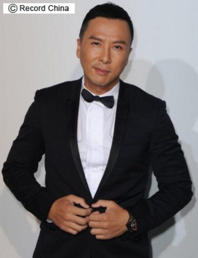 画像: 香港のアクションスターのドニー・イェンが、人気シリーズ第3弾「葉問3」の撮影のためダイエットに励んでいる。