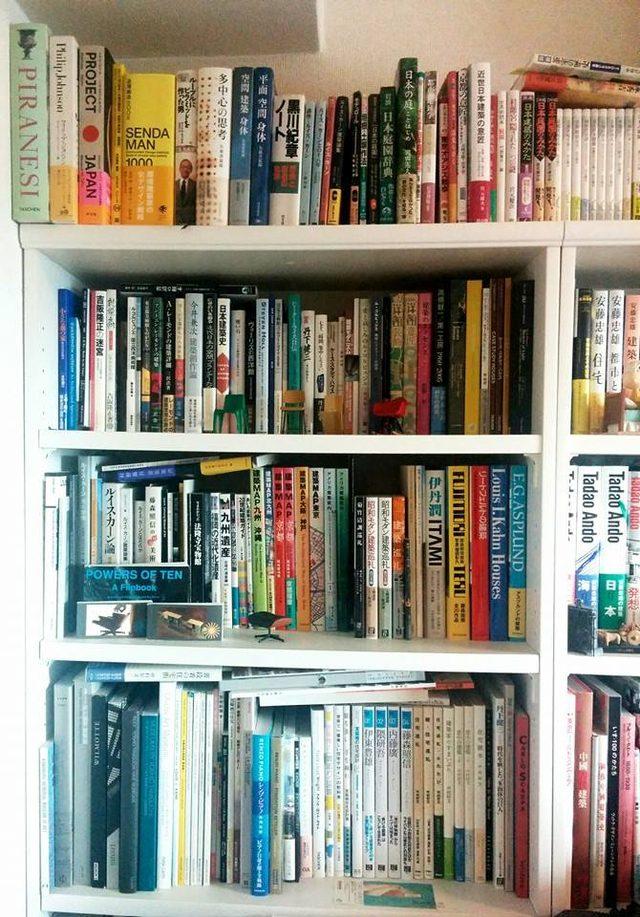 画像1: シネフィル新連載:ミュージアムプランナーの映画そぞろ歩き #ボクの本棚シリーズーー。ここは建築書関係、、、