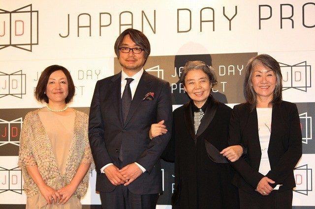 画像: 樹木希林、キャスティング・ディレクターの奈良橋陽子氏、同プロジェクトのプロデューサーで「おくりびと」の脚本を手がけた小山薫堂氏 http://eiga.com/news/20150507/19/
