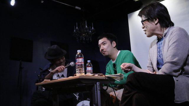 画像: トークショーの様子 (左)萩野さん(中央)鍵和田さん(右)大寺さん