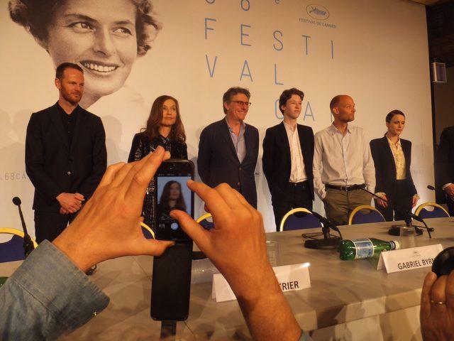 画像: 左端ヨアキム・トリアー監督はラース・フォン・トリアー監督の親戚