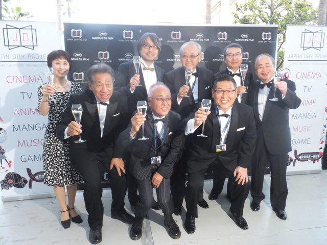 画像: 政府肝いりの日本売り込みプロジェクト「ジャパン デイ  プロジェクト」で映画会社トップがKANPAI!!