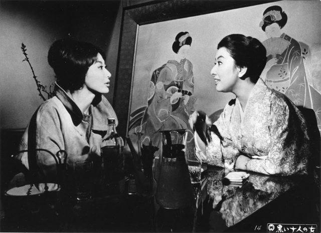 画像2: 京都文化博物館フィルムシアター、映画監督市川崑の世界。『黒い十人の女』(1961) 京都文化博物館 映像情報室 The Museum of Kyoto, Kyoto Film Archive http://www.bunpaku.or.jp/exhi_film.html