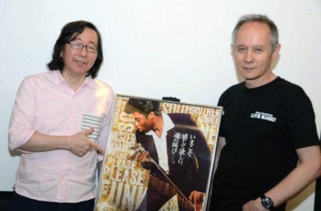 画像: 吉岡正晴氏とピーター・バラカン氏 http://www.cinematoday.jp/page/N0073541