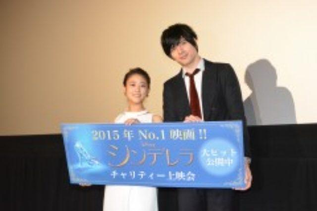 画像: TOHOシネマズ六本木ヒルズにて行われ、担当したエンドソングを披露した高畑充希(左)、城田優 http://www.cinematoday.jp/page/N0073623