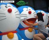 画像: 写真は14年、成都の「ドラえもんの秘密道具展示会」。 http://www.recordchina.co.jp/a110388.html