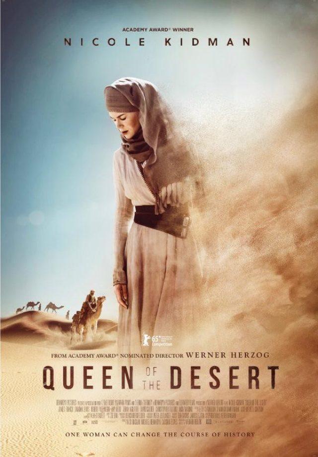 画像: ニコール・キッドマン演ずる砂漠の女王とも言うべき女性の半生をヘルツォーク監督が映画化