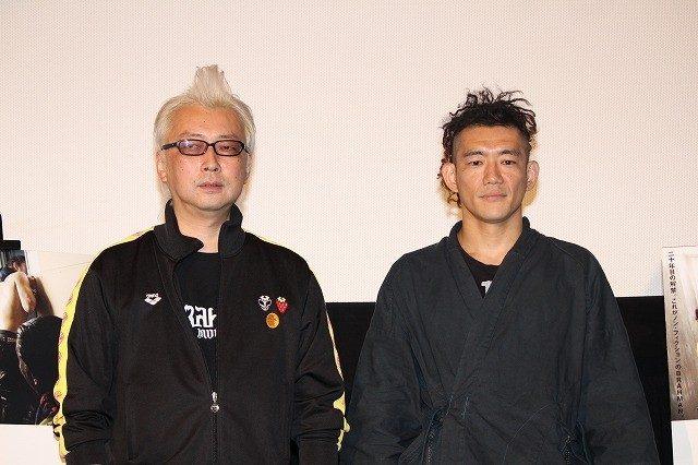 画像: 箭内道彦監督とTOSHI-LOW http://eiga.com/news/20150630/21/