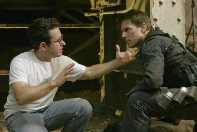 画像: Behind the scenes of Mission: Impossible III with the great J.J. Abrams. #TBT