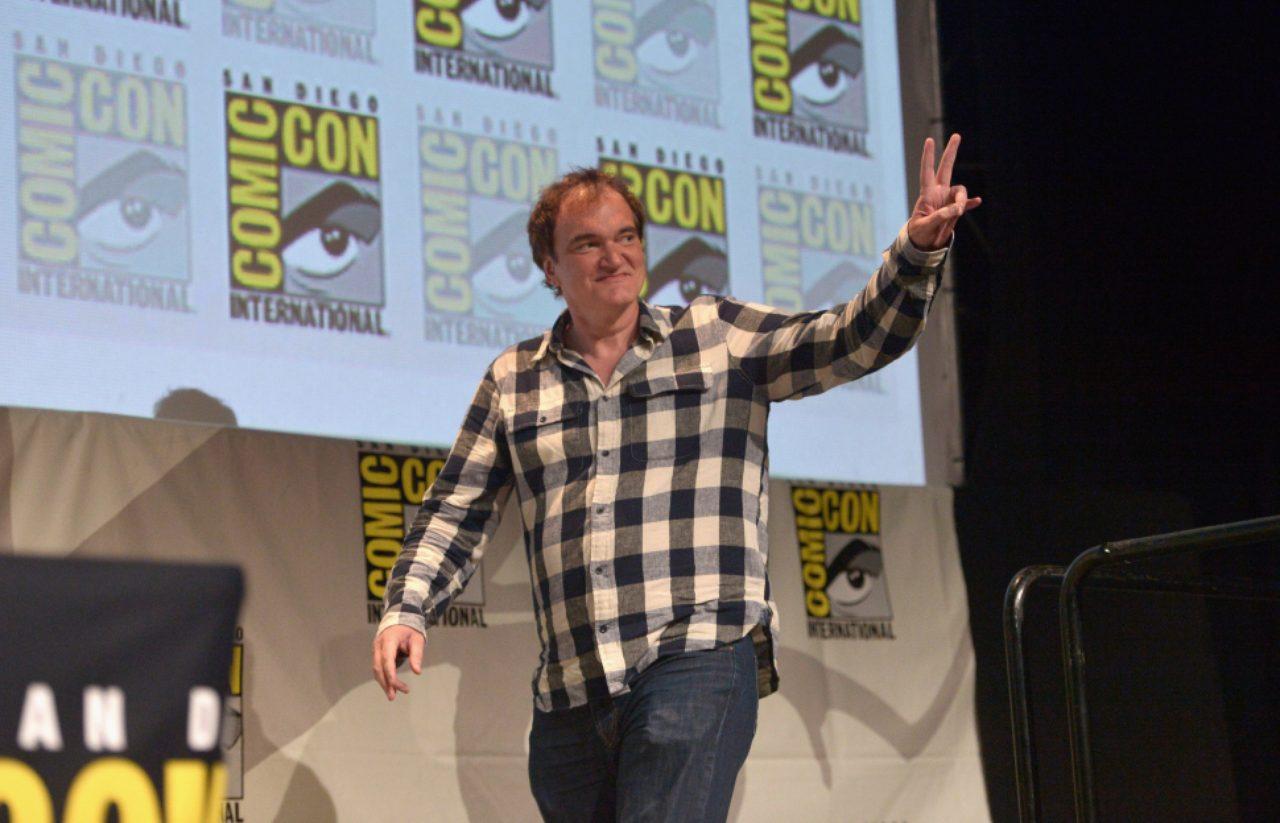 画像: Quentin Tarantino Q&A For 'The Hateful Eight' At Comic Con