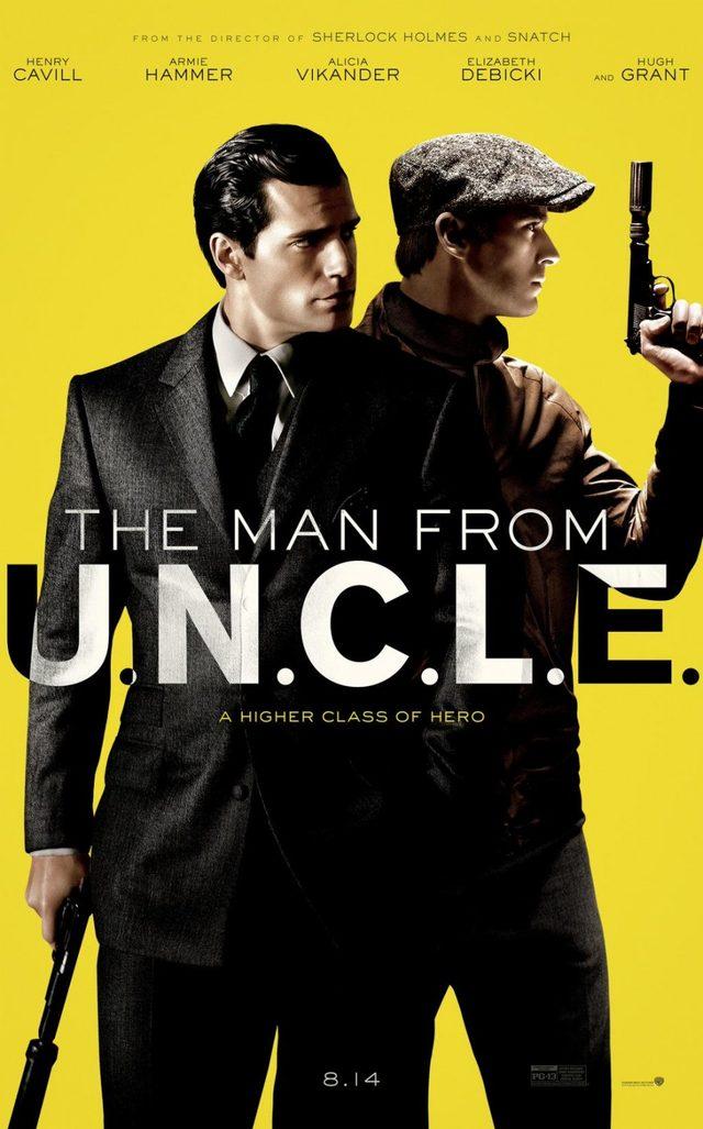 画像: コミコンで「コードネーム U.N.C.L.E.」の5分を越える特別予告が公開!スーパーマン ヘンリー・カヴィルがスパイを演じる