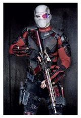 画像: ウィル・スミスが演じるデッドショットのフルコスチューム写真 http://www.cinema-frontline.com/2015/05/movie-news-suicidesquad.html