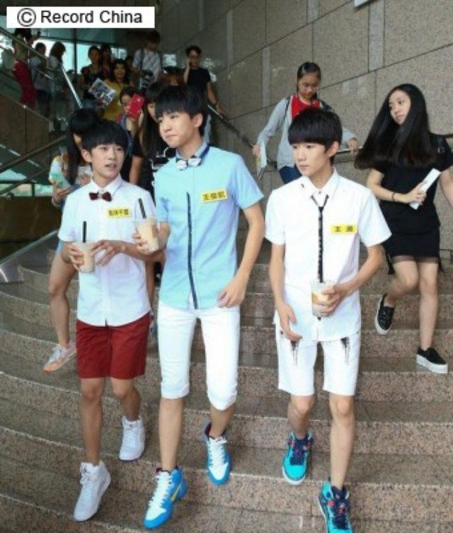 画像: TFBOYSの追っかけファン「高級カメラ」は必須アイテム、お金持ちぶりが話題に―台湾 - エキサイトニュース