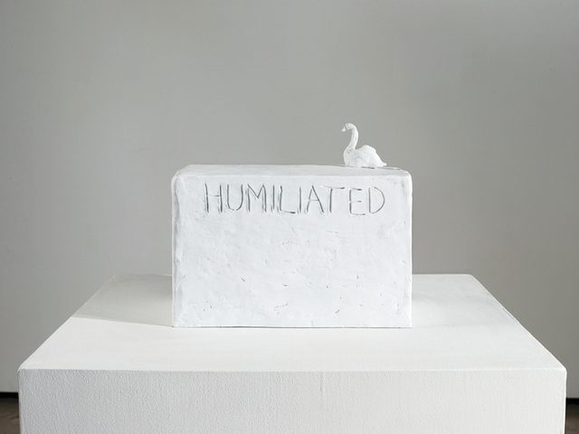 画像: Tracey Emin, Humiliated, 2013 © Courtesy the artist and Lehmann Maupin, New York and Hong Kong © Bildrecht, Vienna 2015