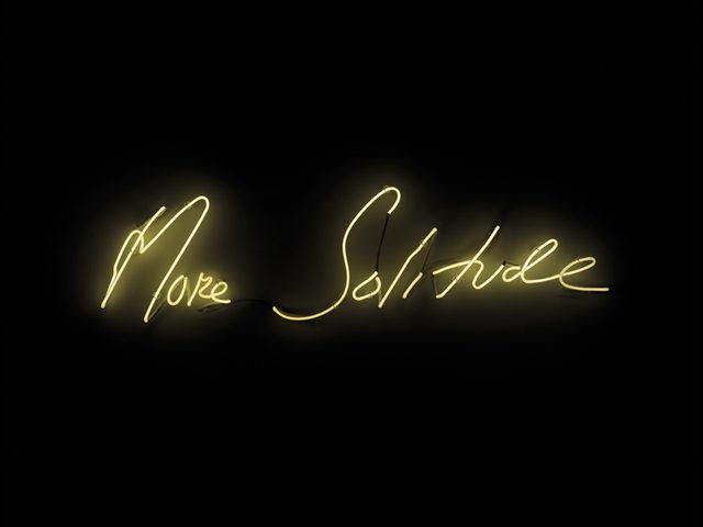 画像: Tracey Emin, More Solitude, 2014 © Courtesy Tracey Emin Studio © Bildrecht, Wien 2015