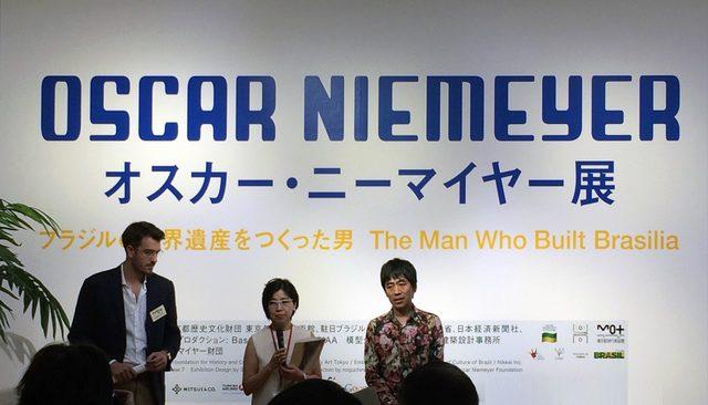 画像: 右がSANAAの西沢立衛氏、中央はチーフキュレーターの長谷川裕子氏(C)cinefil art review