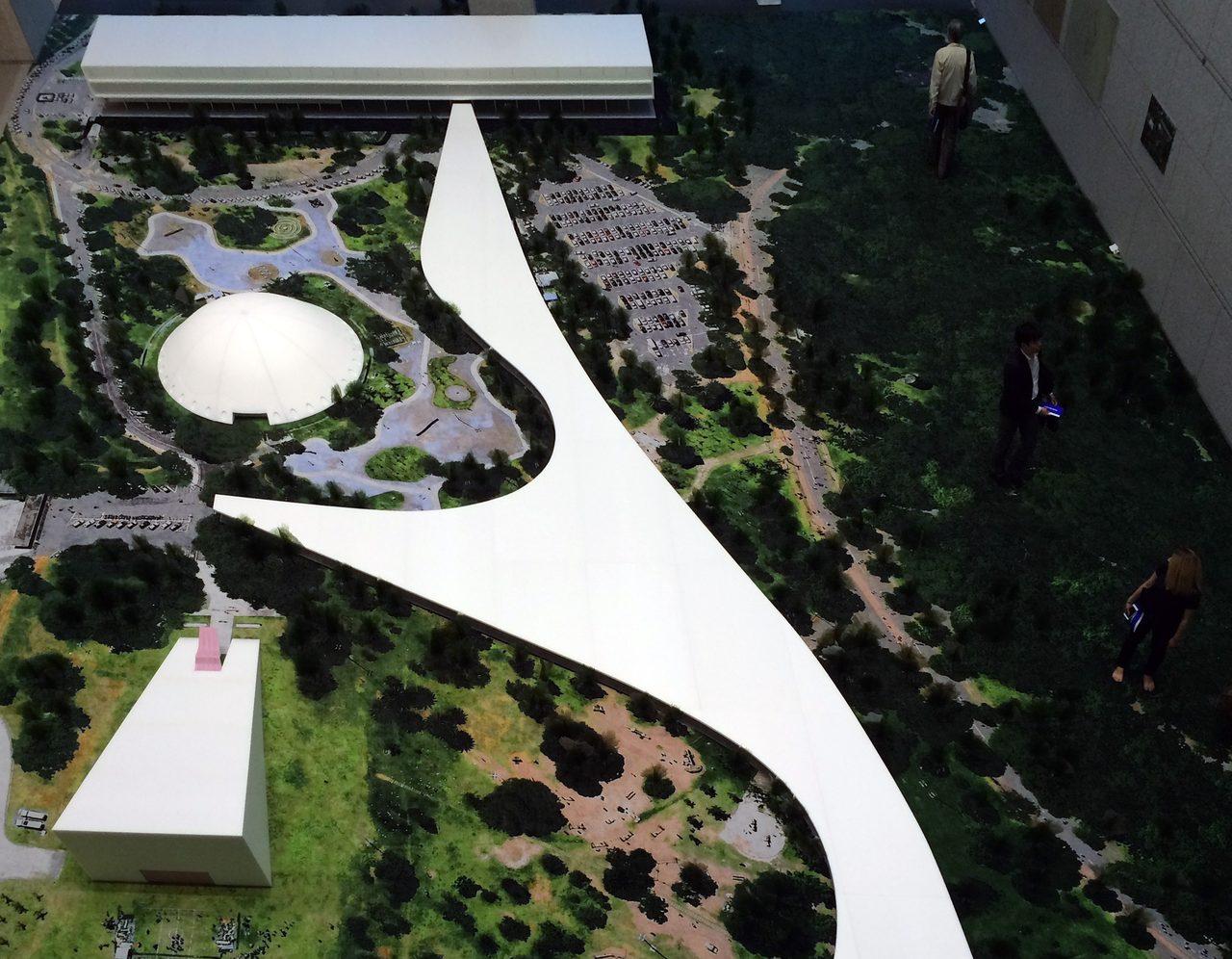 画像: イビラプエラ公園(サンパウロ、1954年開園)の30分の1模型(C)cinefil art review