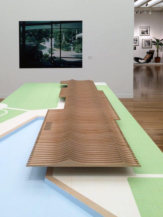 画像: 構造を表現している「ヨットクラブ」(C)cinefil art review